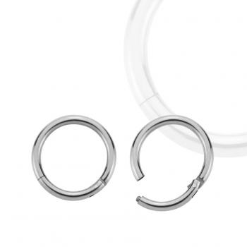 Steel Hinged Clicker Segment Ring