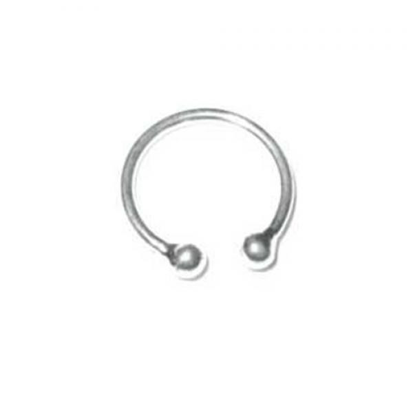 Silver Nose Ring Plain